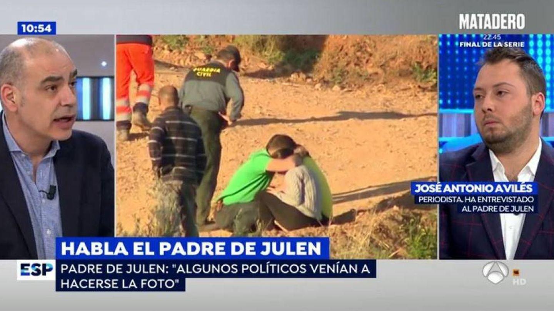 Avilés, en 'Espejo Público'. (Antena 3)