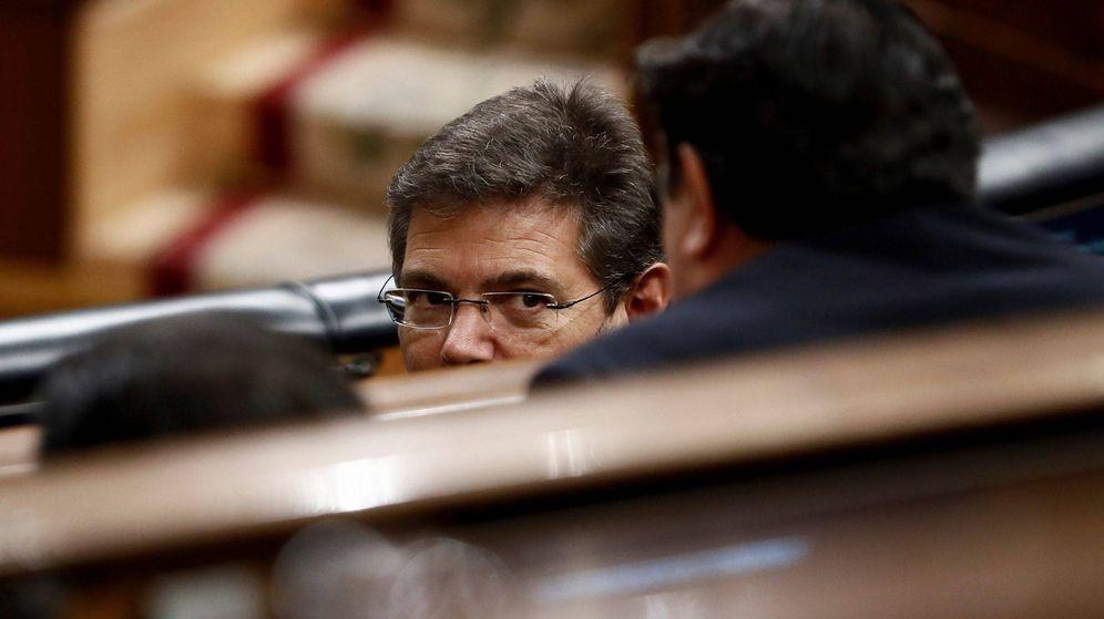 Foto: El ministro de Justicia, Rafael Catalá, durante un pleno del Congreso. (EFE)