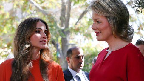 Tercer asalto entre las reinas Matilde y Rania con una clara ganadora