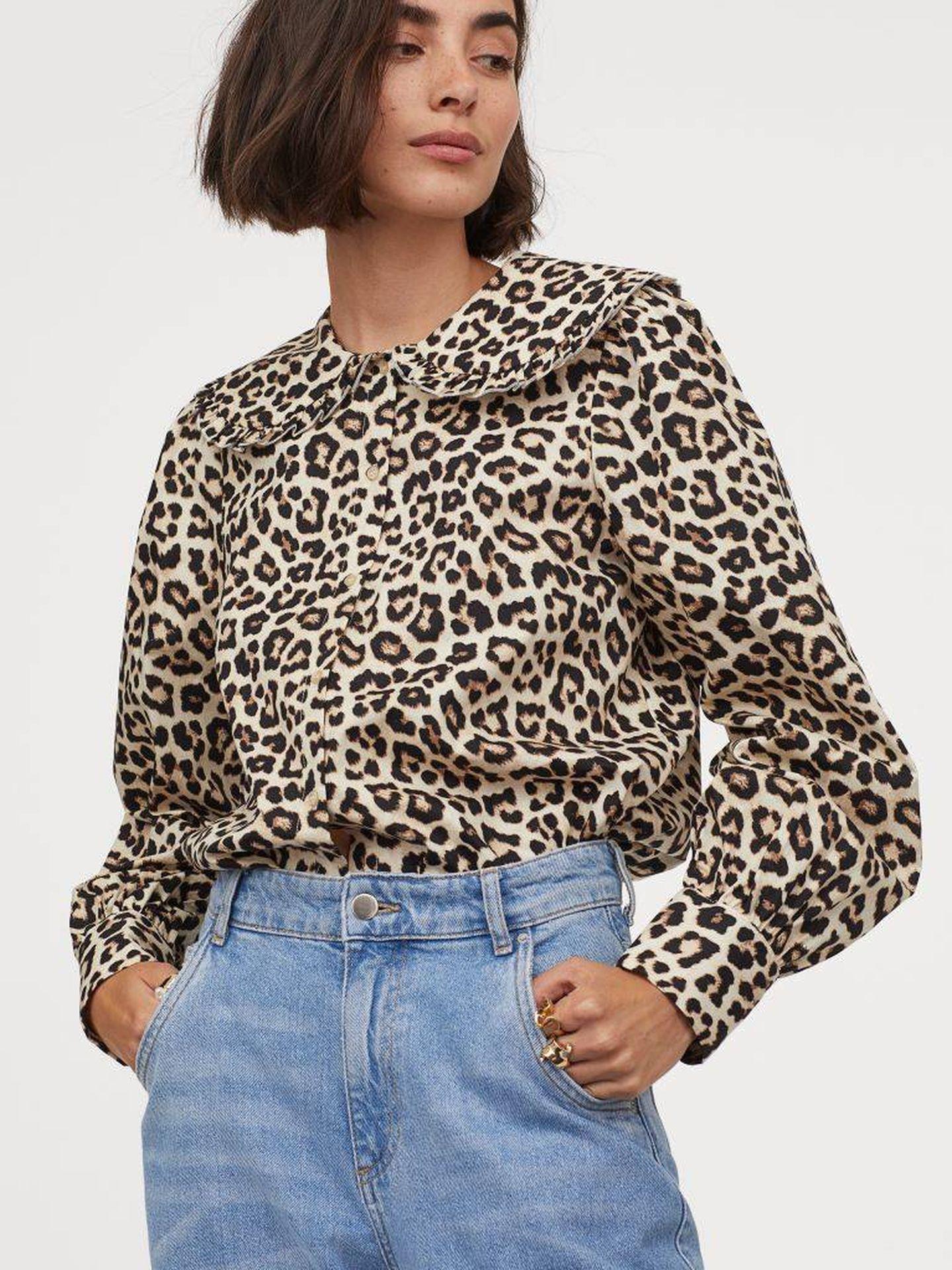La camisa de HyM. (Cortesía)