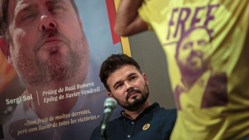 Foto: El ala dura de ERC saca las espadas contra Gabriel Rufián. (EFE)