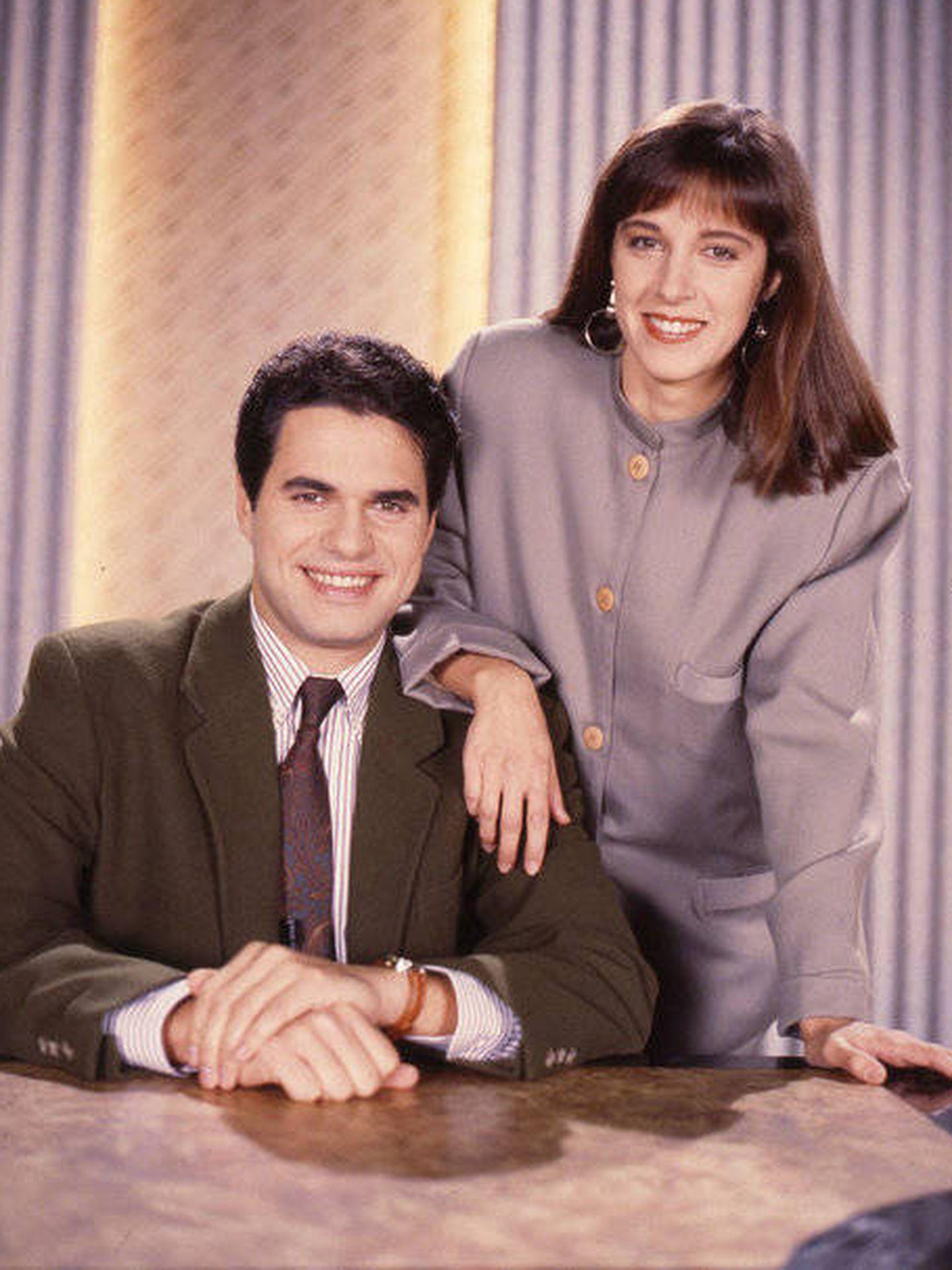 Ana Blanco y Agustín Bravo (Telemadrid)