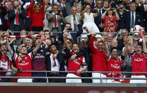 Ramsey da en la prórroga una copa al Arsenal después de nueve años