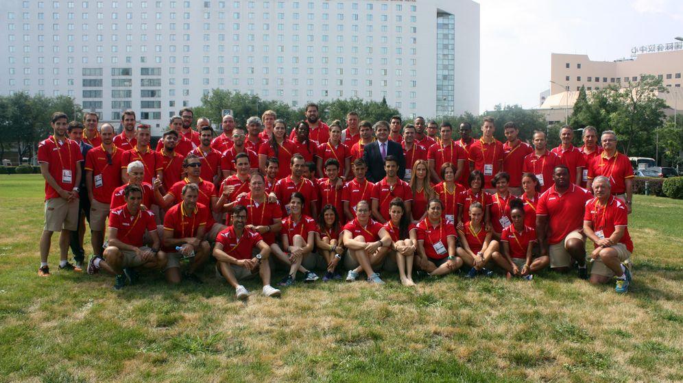 Foto: Foto de la selección española en el Mundial de Pekín (Foto: RFEA).