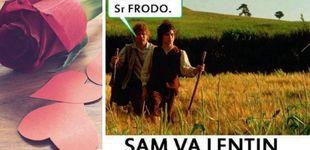 Post de ¿San Valentín? No, Sam va lentín: los memes frikis del 14 de febrero