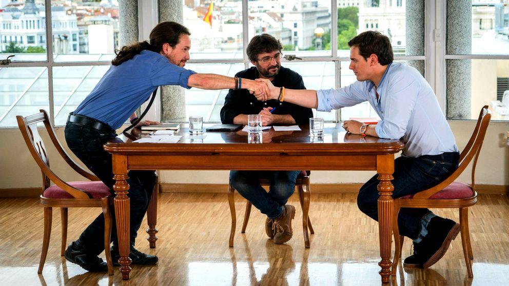 'Salvados' se dispara con el cara a cara entre Pablo Iglesias y Albert Rivera