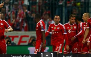 Pep tenía razón: Europa es otra historia en la que el Bayern no asusta