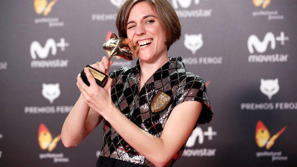 Foto: Carla Simón, flamante ganadora de los Premios Feroz. (Efe)