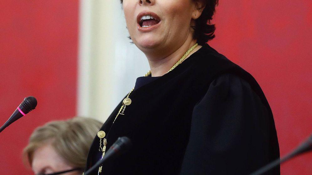 Foto: Soraya toma posesión en el Consejo de Estado. (EFE)