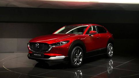 El elegante todocamino Mazda CX30: pequeño por fuera y grande por dentro