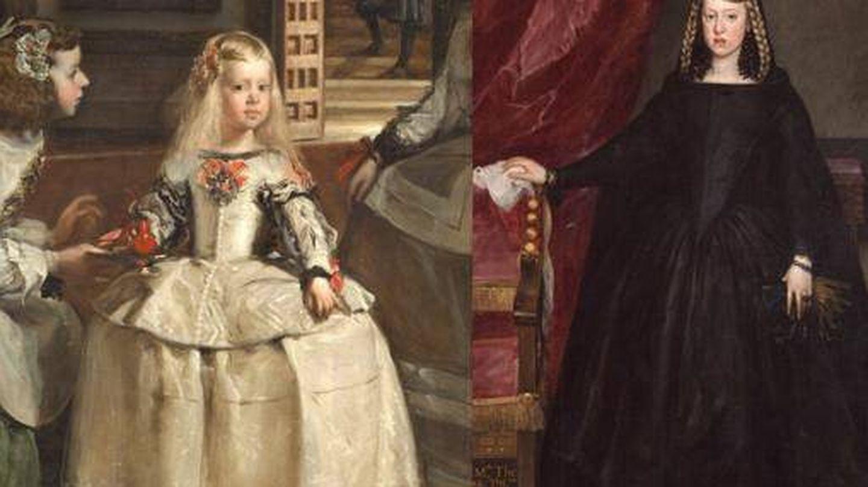 'Las Meninas' de Velázquez (1656) y 'Doña Margarita de Austria' de Juan Bautista Martínez del MAzo (1665-1666)