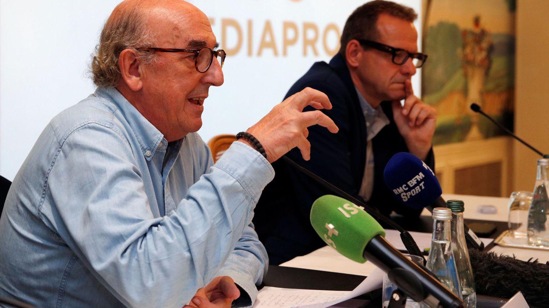 El presidente de Mediapro, Jaume Roures. (Reuters)