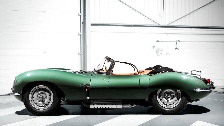 Foto: Modelo XKSS de Jaguar.