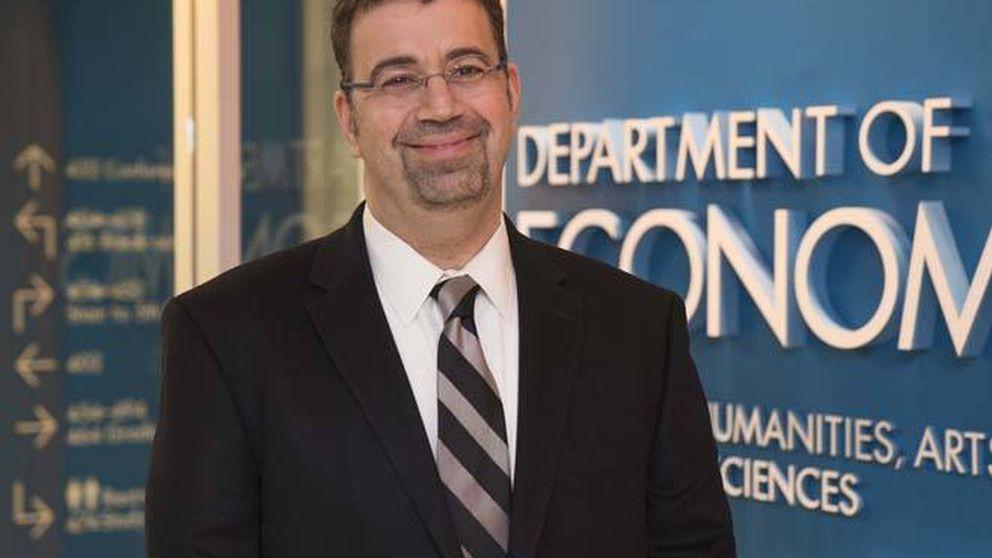 El economista Daron Acemoglu, ganador del premio BBVA en Finanzas