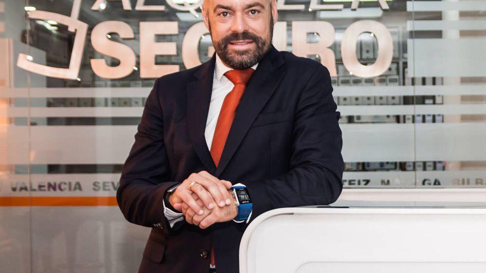 Foto: Gustavo Rossi, presidente de alquiler seguro
