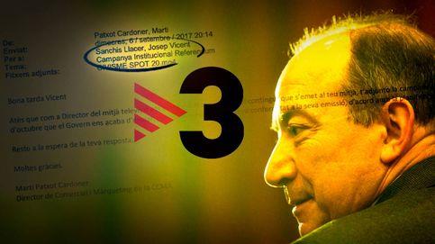 Los correos internos que implican al director de TV3 en la desobediencia del 1-O