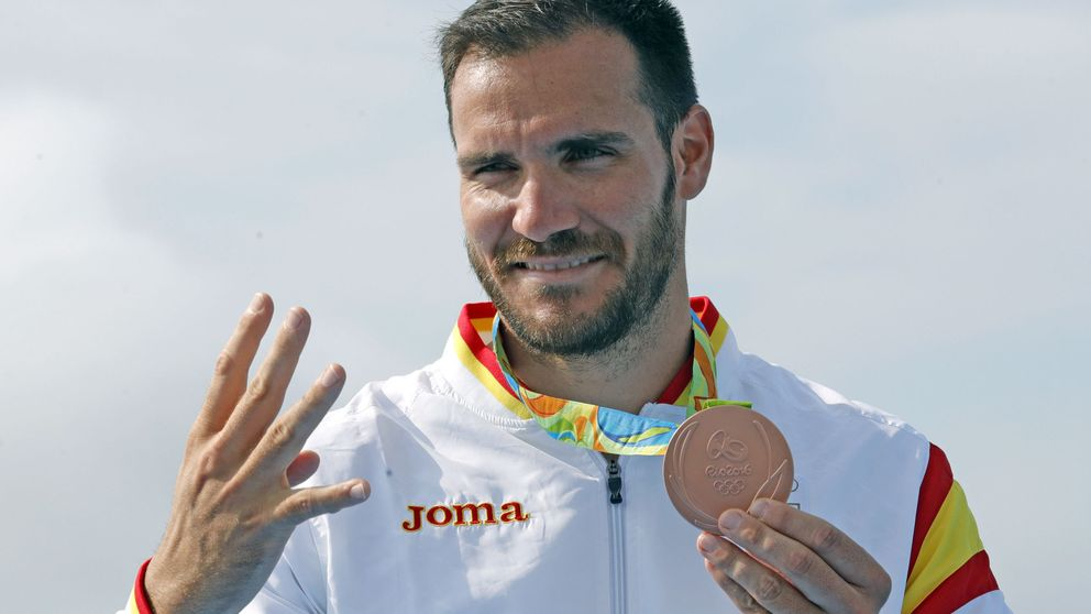 Saúl Craviotto araña la medalla de bronce en el último momento
