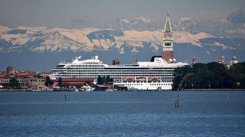 Italia prohíbe la entrada de grandes cruceros en Venecia a partir del 1 de agosto