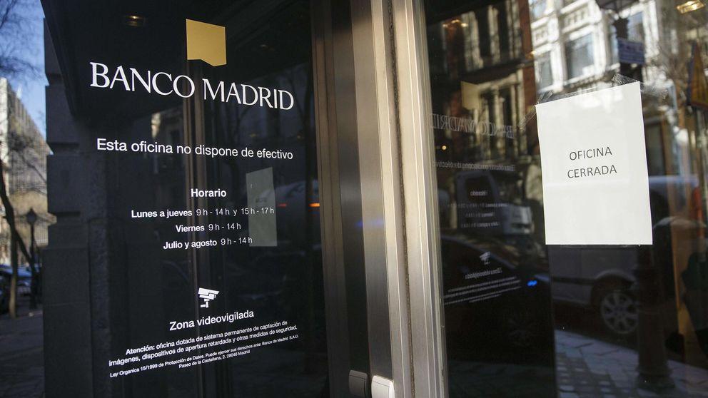 Los Cotino y los hermanos Flores, en la lista de Banco Madrid