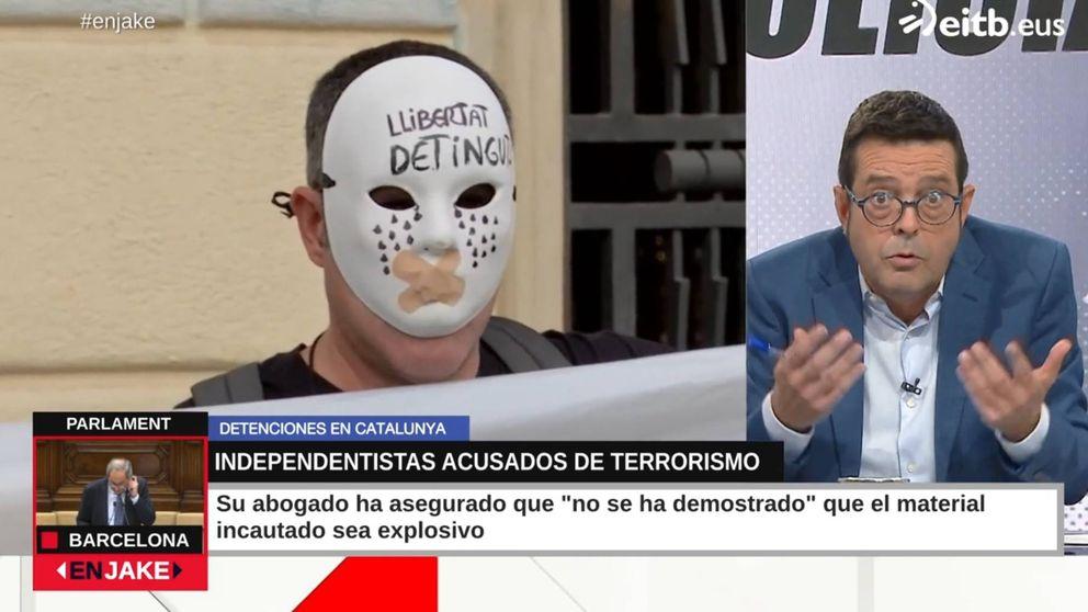 Xabier Lapitz cuestiona a la Guardia Civil por los CDR detenidos: Me huele raro