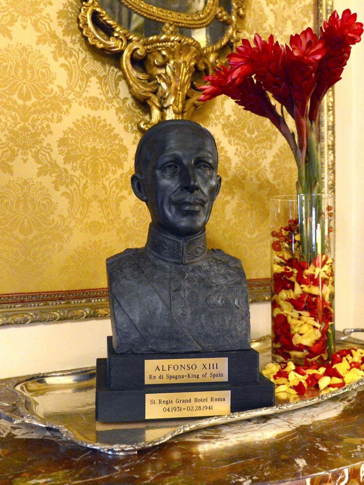 Busto de Alfonso XIII. (EFE)