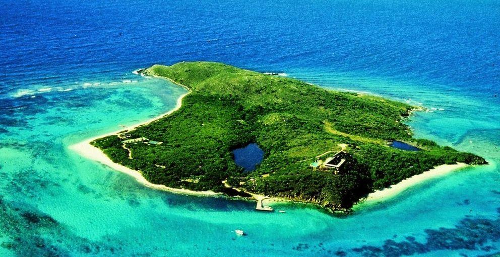 Necker, las coloristas islas del dueño de Virgin (I. C)