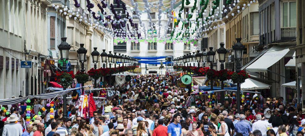 Foto: Imagen de archivo de la Feria de Málaga (Efe)