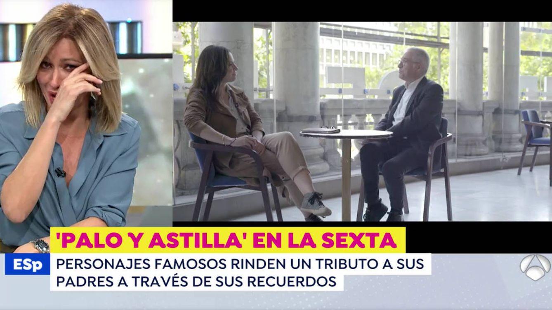 No me enfoquéis, lo pido por favor: Susanna Griso, a lágrima viva en 'Espejo público'