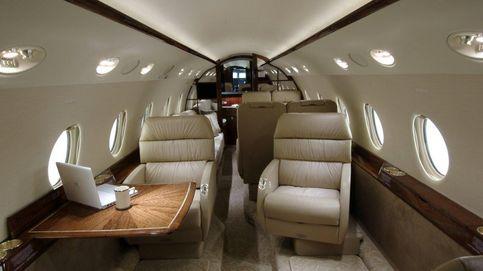 El avión de CR 7  e Indra, propiedad de un fondo buitre multado por Hacienda