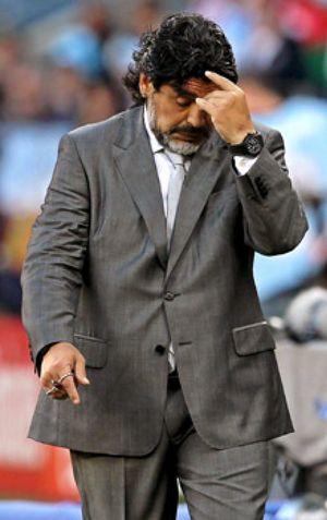 """Maradona: """"Mi ciclo en Argentina se terminó"""""""