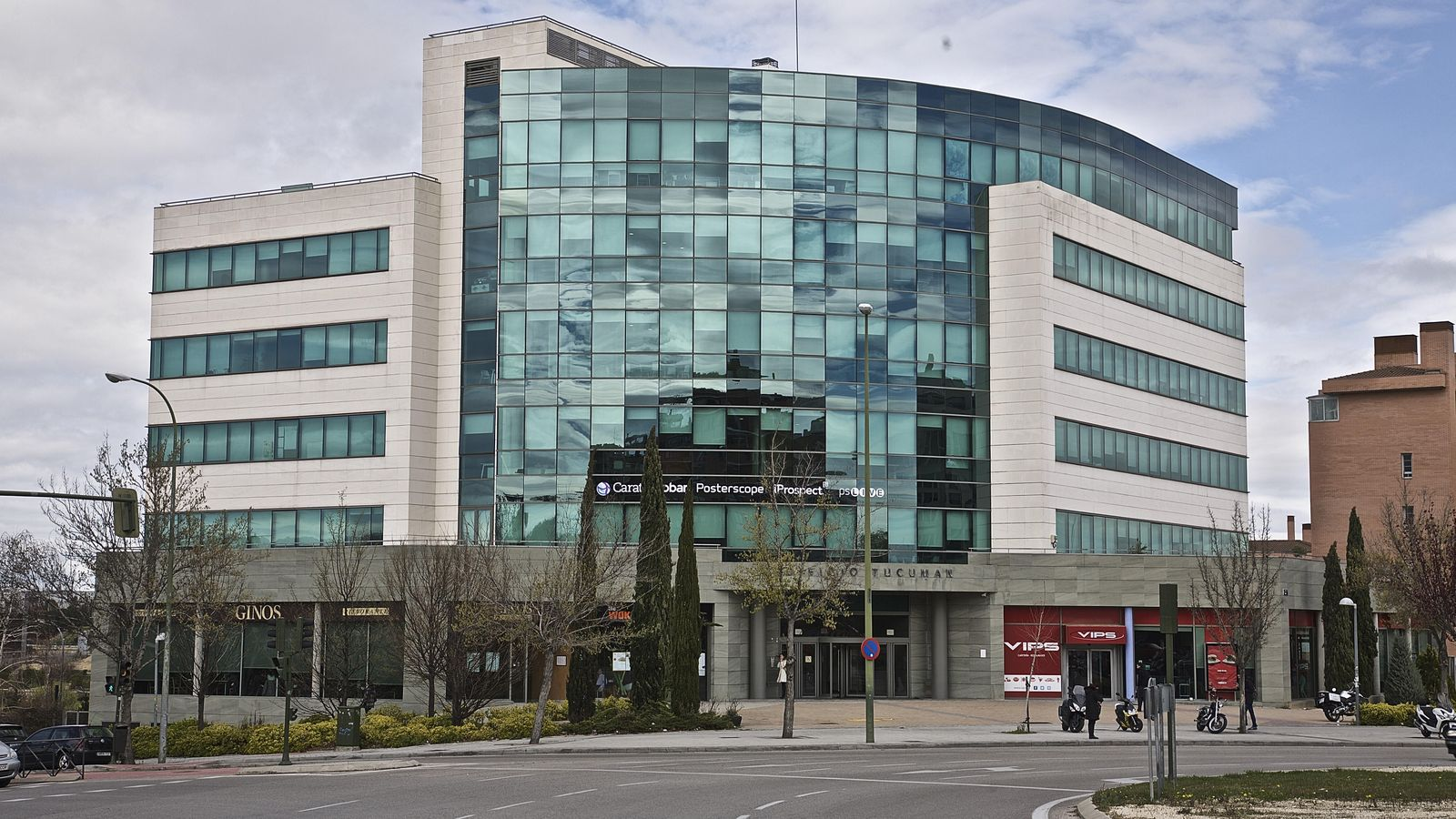 Axia real estate compra dos edificios de oficinas en madrid por 40 5 millones - Edificio de oficinas ...