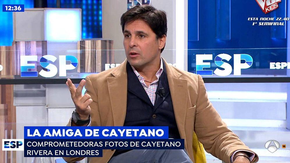 Foto: Fran Rivera en 'Espejo público'. (Mediaset España)