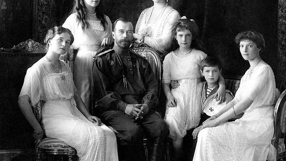 Foto: Maria (segunda por la izquierda) y Alexei (segundo por la derecha) Romanov, príncipes de Rusia - GOBIERNO DE RUSIA