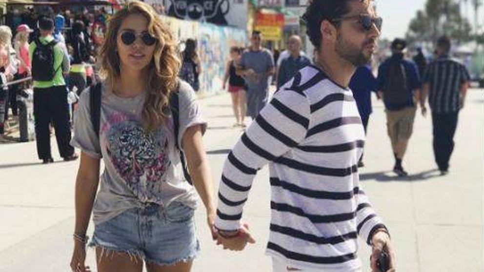 David Bisbal y Rosanna Zanetti, de paseo por Los Angeles