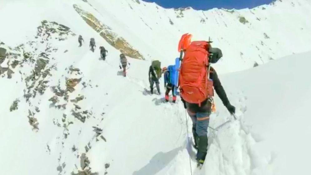Foto: Últimas imágenes de los alpinistas desaparecidos en la montaña sin nombre.