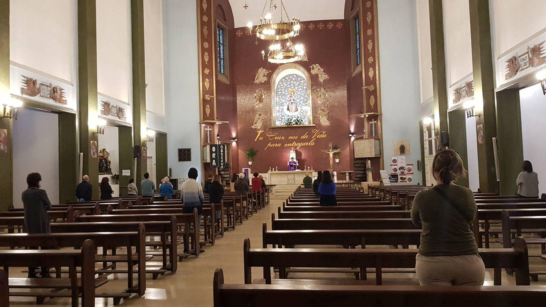 La parroquia de Santa María de la Paz (A.P.)