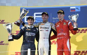 Tras cuatro años en la GP2 Series, Palmer se proclama campeón