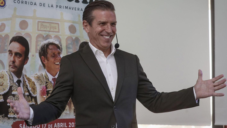 Manuel Díaz, el Cordobés en el anuncio de su vuelta a los ruedos. (EFE)