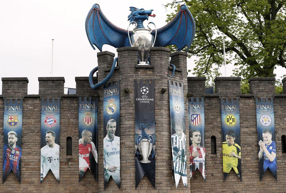 Foto: Cardiff ya está preparada para la final. (Reuters)