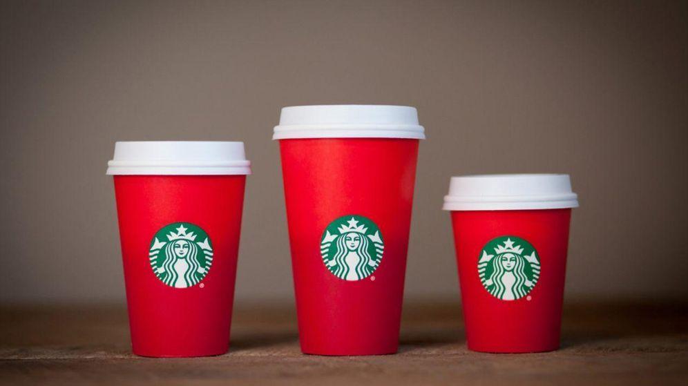 Foto: Este es el diseño de las tazas de Starbucks que ha creado la polémica (Starbucks)