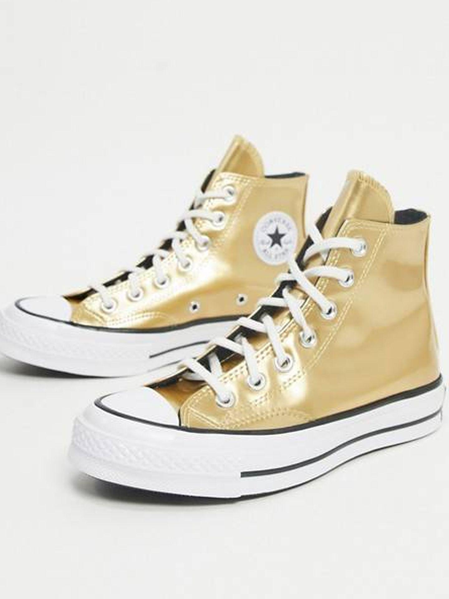 Las zapatillas de Converse. (Cortesía)