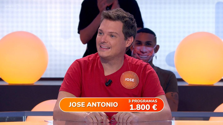 Jose Antonio, exconcursante de 'Pasapalabra'. (Atresmedia)