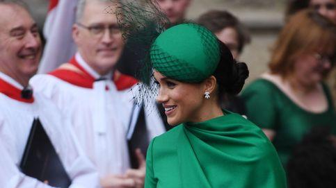 El detalle secreto del vestido verde de Meghan Markle en su gran despedida