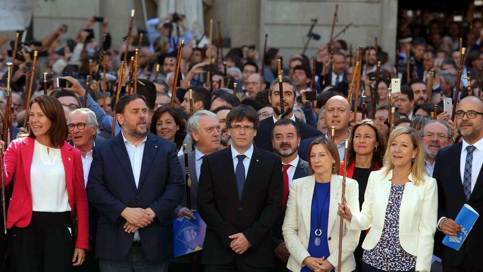 Puigdemont: Que no subestimen la fuerza del pueblo de Cataluña