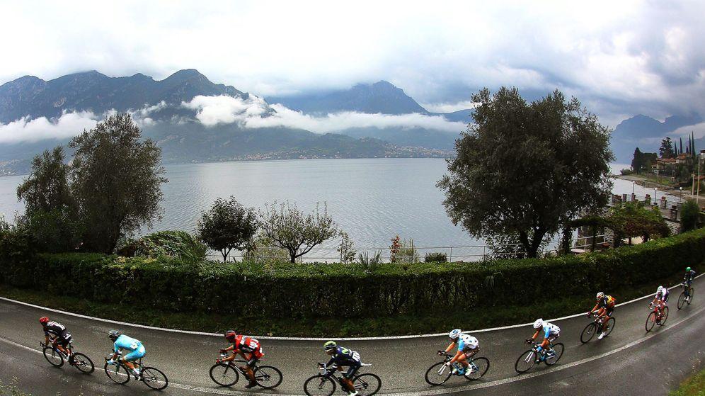 Foto: Imagen de archivo del Giro de Lombardía. (EFE)