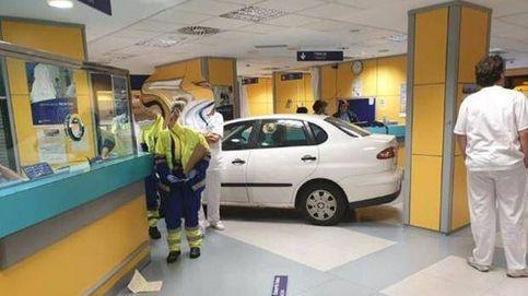 Empotra su coche contra urgencias en Bilbao porque tenía que esperar