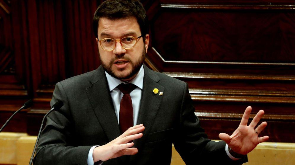 Foto: El vicepresidente del Govern y 'conseller' de Economía, Pere Aragonès. (EFE)