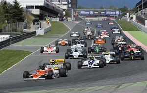 Fórmula 1 históricos: por un día, cualquier tiempo pasado fue mejor