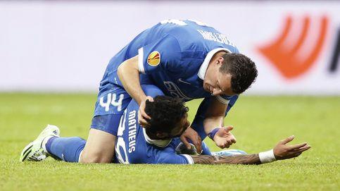 Matheus dio el susto en la final de la Europa League