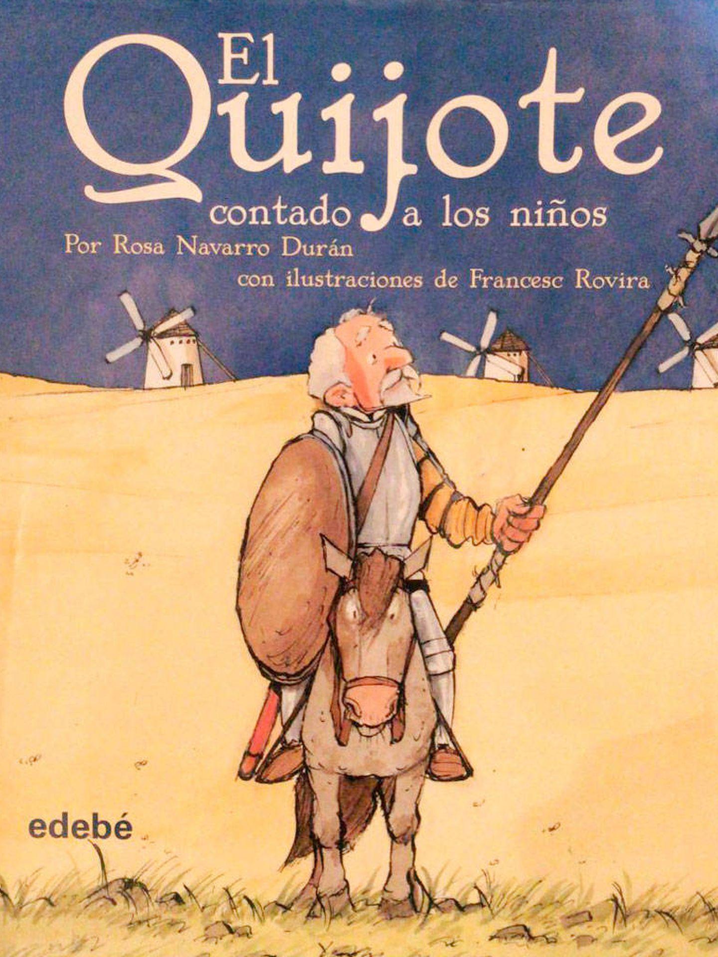 Ejemplar del 'Quijote', regalo de los Urdangarin de Borbón. (Vanitatis)